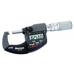 """L.S. Starrett - 67827 - Elec. Digital Micrometer0-1"""" Range W/output"""