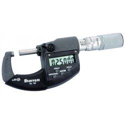 "L.S. Starrett - 67828 - Elec. Digital Micrometerw/out Output 0-1"" Range"
