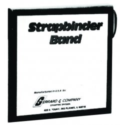"Strapbinder - 1807046 - Steel Strapping 3/4""x.020x300' Blk Painted"