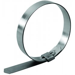 "Strapbinder - HBJS-213 - 4"" X .75"" X .030"" Stainless Steel Clamp"