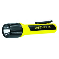 Streamlight - 33344 - Flashlight Luxeon Light-emitting Diode Black 3c Polymer Propolymer 8.55 336 Hour Streamlight, Ea