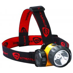 Streamlight - 61200 - Streamlight 3AA HAZ-LO Division 1 Headlamp - AA - ResinCasing, PolycarbonateLens - Yellow