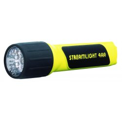 Streamlight - 68201 - Streamlight ProPolymer 4AA Flashlight - AA - Yellow