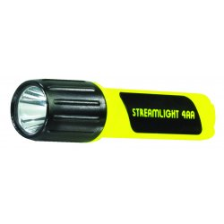 Streamlight - 68244 - Streamlight Yellow ProPolymer Lux Division 2 Flashlight (4 AA Alkaline Batteries Included)
