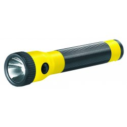 Streamlight - 76014 - Streamlight Yellow PolyStinger Rechargeable Flashlight With AC/DC Steady Charger And (2) Charge Holder (3 3.6 Volt Nickel-Cadmium Sub-C Batteries Included) (6 Per Pack)