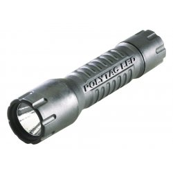 Streamlight - 88850 - Streamlight PolyTac LED Tactical Light - CR123A - NylonBody, PolymerBody - Black