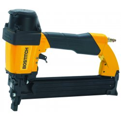 Stanley Bostitch - 650S4-1 - Air Construction Stapler with Front Exhaust, Pressure Range: 70 to 100 psi, Yellow