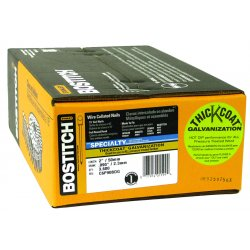 Stanley Bostitch - C8R90BDG - Bostitch C8R90BDG 2-1/2'', 0.09 Ring Shank Galvanized Coil Siding Nail