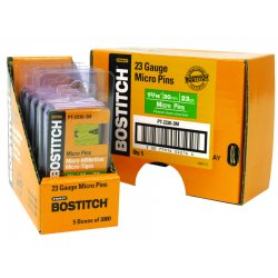 Stanley Bostitch - PT-2325-3M - Headless Pin, 23 ga, 1 In, PK3000