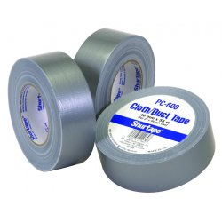 "Shurtape - PC-600-3 - 209438 3""x60yds Silverduct Tape Economy Grd"
