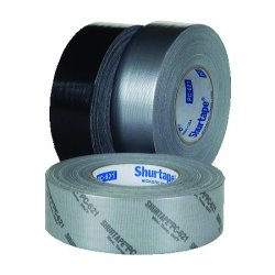 Shurtape - PC 621 - 48mm x 55m Duct Tape, Silver, Package Quantity 24