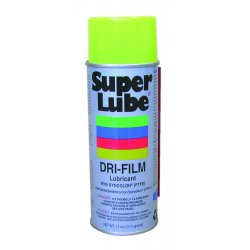 Super Lube - 11016 - Dry Film Lubricant, 11 oz. Container Size, 11 oz. Net Weight