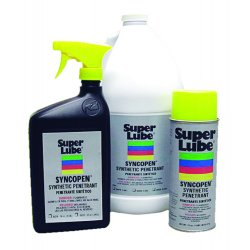 Super Lube - 85011 - 11 oz. Aerosol Can Synthetic Penetrant, Brown