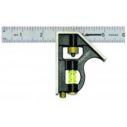 "Swanson Tools - TC130 - 6"" Pocket Combo Square"