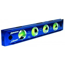 "Swanson Tools - TL043M - 9"" Savage Solid Billet Torpedo Level"