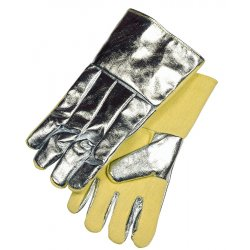 "Stanco - ACKK214WL - 14""glove-kevlar Palm & Inside Cuff Full Wool Lnd"
