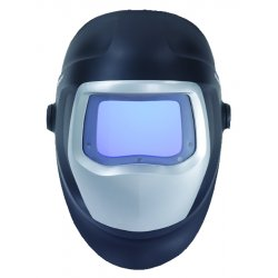 3M - 06-0100-20SW - Welding Helmet, Black/Silver, 9100 X, 5, 8 to 13 Lens Shade