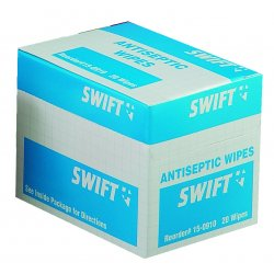 Swift First-Aid - 150910 - Antiseptic Wipes 20/bx