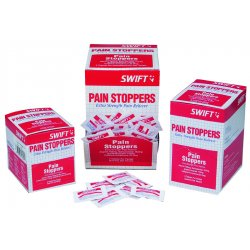 Swift First-Aid - 163250 - Pain Stoppers Extra Strength 250/bx