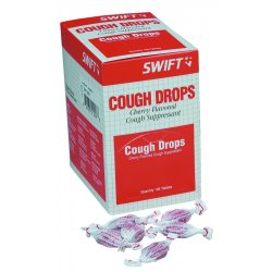 Swift First-Aid - 210100 - Cherry Cough Drops 100/bx