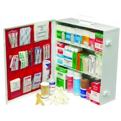 Swift First-Aid - 34180LFP - Dwos Med Industrial 180 Firstaid Cabinet