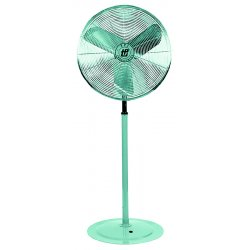 "Test Products International (TPI) - 737-ACU30-P - TPI ACU 30-P Floor Fan - 30"" Diameter - 2 Speed - 84"" Height - Aluminum Blade - Gray"