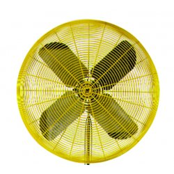"Test Products International (TPI) - HDH30 - 30"" 2-speed 115volt 1/2hp Fan Head On, Ea"
