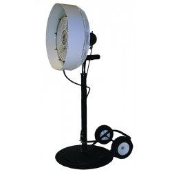 """TPI - HPM-P - Satellite Fan Pedestal Base W/10"""" Wheels, Ea"""