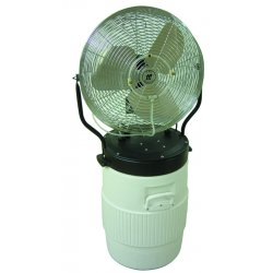 "TPI - PM-18FO - 18"" Fan And Pump Lid Power Mister, Ea"
