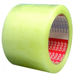 "Tesa Tape - 04263-00058-00 - 2"" X 110yds 1.9 Mil Clear Bopp Carton Sealing Ta"