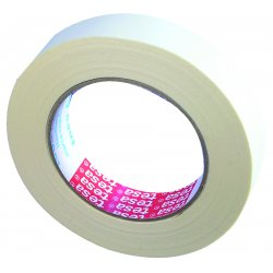 Tesa Tape - 53120-00076-01 - 1/2 In Cost Efficient Creped Paper Masking Tape