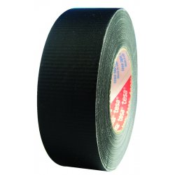 Tesa Tape - 53949-00000-02 - Gaffer's Tape Poly Coated Cloth Black Glare Free