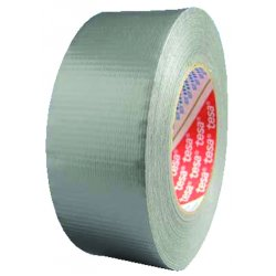 "Tesa Tape - 64613-09001-00 - 2""x60yds Silver Duct Tape Economy Grade"