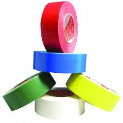 "Tesa Tape - 64662-09011-00 - 9 Mil White Duct Tape 2""x 60 Yds"