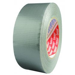 "Tesa Tape - 64663-09000-00 - 2""x60yds Silver Duct Tape Heavy Duty Grade"