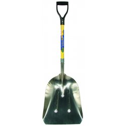 UnionTools - 53166 - Dwos Cal12wgsfg#12 Aluminum Western Scoop W/29""