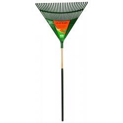 """UnionTools - 64171 - Plrt30cg 30"""" Poly Leaf Rake W/cushion G"""