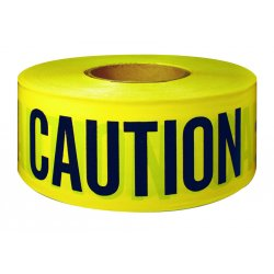 "Intertape Polymer - 600CC-300 - Ut-600cc 3""x300' Cautiontape Black/yello"