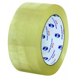 "Intertape Polymer - F411005 - ipg Hot Melt Carton Sealing Tape - 3"" Width x 1000 yd Length - Polypropylene Film - Rubber Resin Backing - Pressure Sensitive - 4 / Carton - Clear"