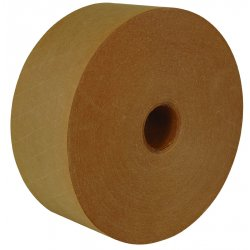 "Intertape Polymer - K2800 - ipg Med-duty Water-activated Tape - 3"" Width x 200 yd Length - Medium Duty, Tamper Evident, Durable - 10 / Carton - Natural"