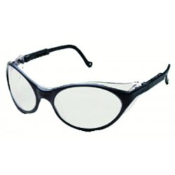 Honeywell - S1623 - Uvex By Honeywell Bandit Safety Glasses With Blue Plastic Frame And Espresso Polycarbonate Ultra-dura Anti-Scratch Hard Coat Lens
