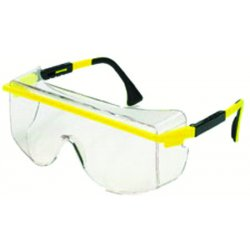 Uvex / Sperian - S2500C - Astrospec© OTG Safety Glasses with Black Frame & Clear Lens, Anti-Fog