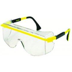 Uvex / Sperian - S2501 - Astrospec® OTG 3001 Scratch-Resistant Safety Glasses, Amber Lens Color
