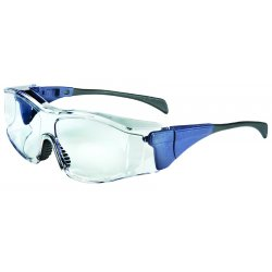 Uvex / Sperian - S3160 - Ambient OTG Safety Glasses with Blue Frame w/Clear Lens (MOQ=10)
