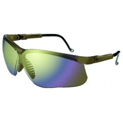 Uvex / Sperian - S3223 - Genesis® Scratch-Resistant Safety Glasses, Gold Mirror Lens Color