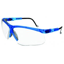 Honeywell - S3240 - Uvex Genesis Translucent blue frame glasses with clear lenses