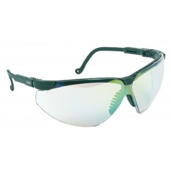 Honeywell - S3301X - Uvex By Honeywell Genesis XC Safety Glasses With Black Polycarbonate Frame And Gray Polycarbonate Uvextreme Anti-Fog Lens