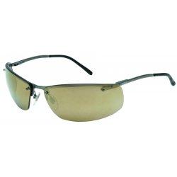 Uvex / Sperian - S4112 - Slate™ Safety Glasses with Matte Gunmetal Frame/Gold Mirror Lens (MOQ=10)
