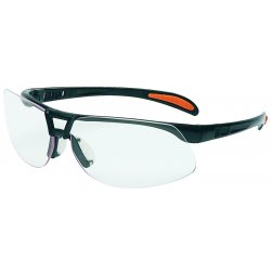 Uvex / Sperian - S4200 - Protege© Safety Glasses Black Frame with Clear Anti-Scratch Lens (MOQ=10)