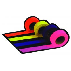 Presco - FLAG-ORANGE - 1-3/16x300'ut-800 Flagging Tape Orange